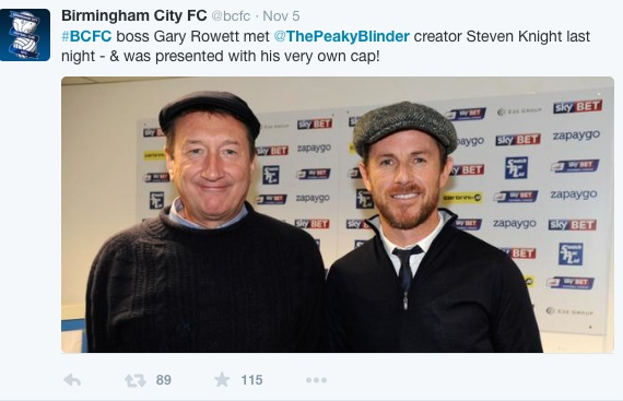 Steven Knight and Gary Rowett