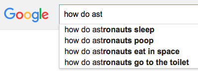 How do astronauts