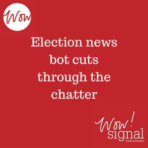 election news bot