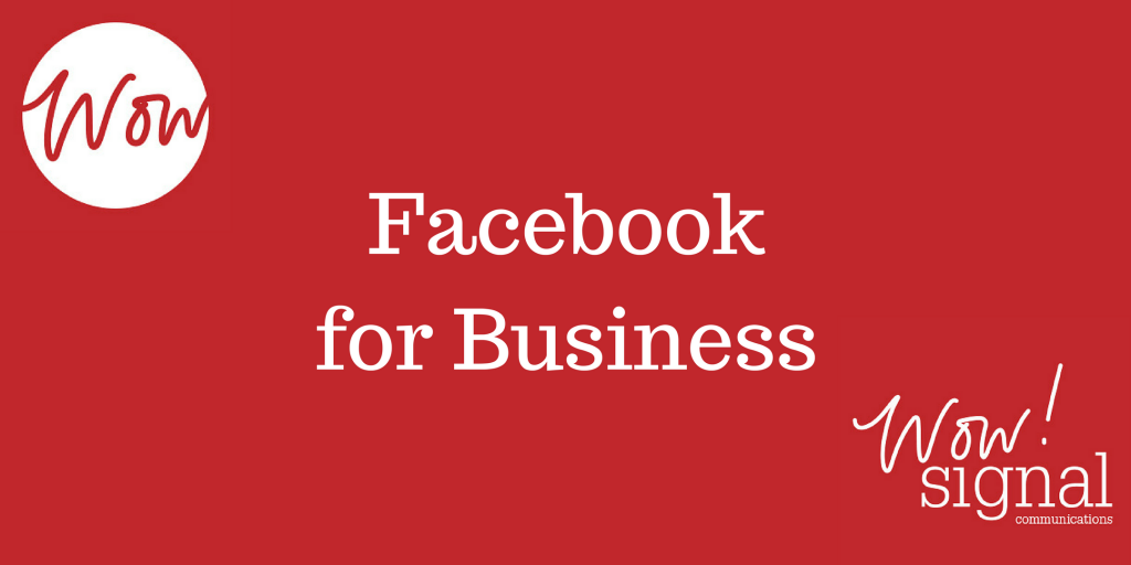 Facebook for Business Training course