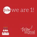 social media company marks first birthday