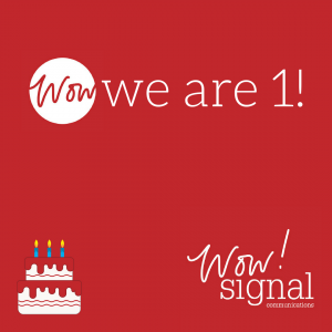 social media company marks first birthday